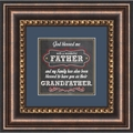 Father and Grandfather - Framed Christian Tabletop Home Decor