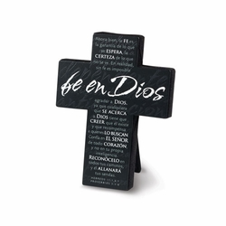 Fe En Dios (Faith in God) Cross