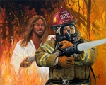 Fireman's Prayer by Stephen S. Sawyer - 12 Unframed Options