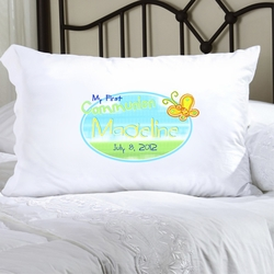 First Communion and Confirmation Pillow Case - 10 Styles Available