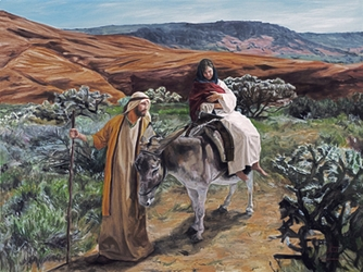 Flight into Egypt by Jason Jenicke - 2 Unframed Options