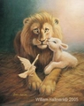For He is our Peace (Harmony) by William Hallmark - 5 Unframed Options