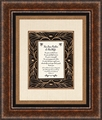 For Our Pastor And His Wife Framed Christian Wall Decor