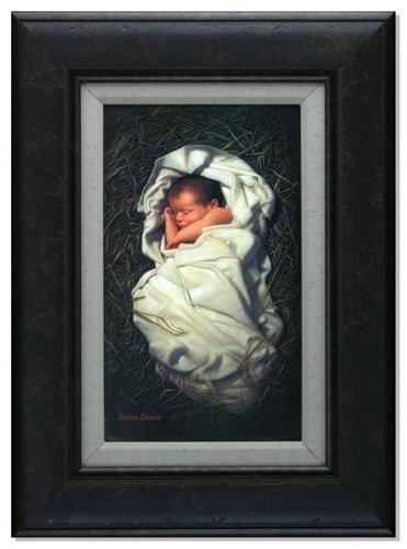 For Unto Us A Child Is Born By Simon Dewey Lordsart