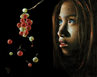 Forbidden Fruit by Akiane Kramarik - 4 Unframed Options