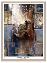 Forget Me Not by Danny Hahlbohm - Unframed Christian Art