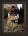 Forgiving Sin (A Prodigal Daughter) by Jason Jenicke - Framed Christian Art
