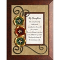 My Daughter - Framed Christian Tabletop Home Decor
