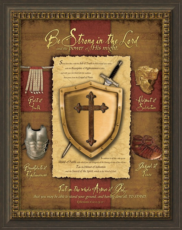 Full Armor Of God Christian Wall Decor
