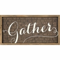 Gather Framed Art - Christian Home & Wall Decor