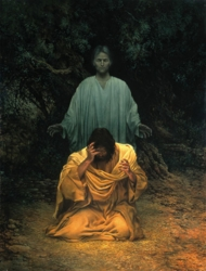 Gethsemane by James C. Christensen - 2 Options Available