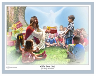 Gifts From God by Danny Hahlbohm - 6 Unframed Options
