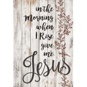 Give Me Jesus Pallet Decor - Christian Home & Wall Decor