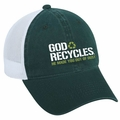 God Recycles Christian Cap