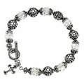 Good and Perfect™ Sterling Silver Bracelet w/Stones