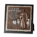 Good Shepherd Small Stone Sculpture Plaque