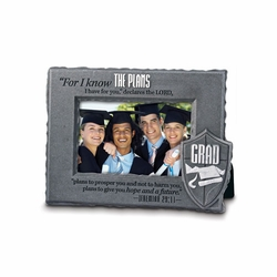 Grad - He Is You Shield Collection Photo Frame