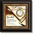 Granddad Proverbs 16:9 Framed Table Clock by Heartfelt