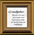 Grandfather Framed Christian Art - 4 Frames Available
