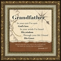 Grandfather Inspirational Framed Christian Gift - 4 Frames Available