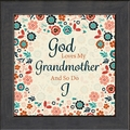 Grandmother Framed Christian Inspirational Gift - 4 Frames Available