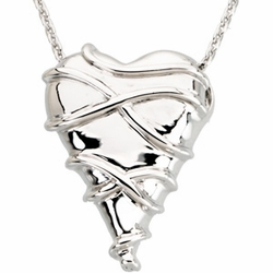 Guard Your Heart Pendant and Chain - Proverbs 4:23