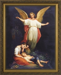 Guardian Angel (Children Resting) - 3 Framed Options