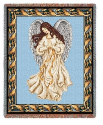 Guardian Angel Tapestry Throw