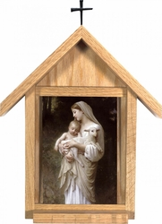 Hand Crafted Deluxe Indoor Shrines (3 sizes, 42 images)