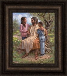 He Loves The Children by Jon McNaughton - 6 Options Available