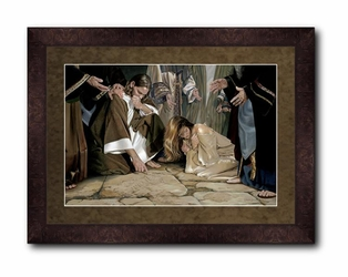 He That is Without Sin by Liz Lemon Swindle - 5 Framed & Unframed Options