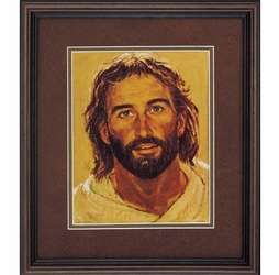 Head of Christ by Richard Hook - Framed Christian Art