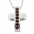 Healing Cross Pendant & Chain (Reversible)