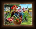 Healthy Living Garden Harvest by Lars Justinen - 28 Framed & Unframed Options