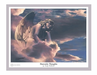 Heavenly Thoughts by Danny Hahlbohm - 4 Unframed Options