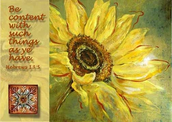 Hebrews 13:5 - Inspirational Images by Ruth Bush