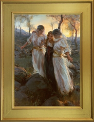 Hinds Feet on High Places by Daniel Gerhartz - Framed or Unframed