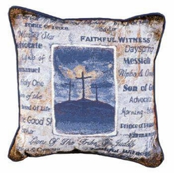 His Holy Name Pillow