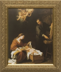 Holy Family - Christian Art - 2 Framed Options