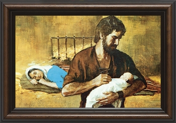 Holy Family - Christian Art - 4 Framed Options