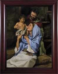 Holy Family II by Jason Jenicke - 2 Framed Options