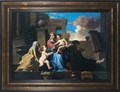 Holy Family on the Steps - Christian Art - 2 Framed Options