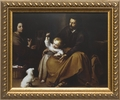 Holy Family with Small Bird by Bartolome Esteban Murillo - 3 Framed Options