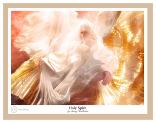 Holy Spirit by Danny Hahlbohm - 5 Unframed Options