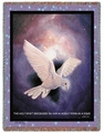 Holy Spirit Religious Tapestry Throw