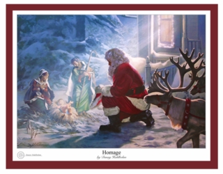 Homage by Danny Hahlbohm Christmas Art - 5 Unframed Options