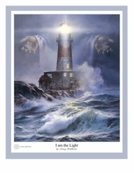 I Am the Light by Danny Hahlbohm - 5 Unframed Options