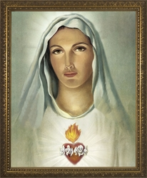 Immaculate Heart (Traditional) - 4 Framed Options