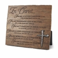 In Christ Plaque - Christian Home Decor
