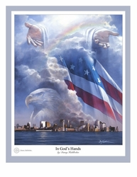 In God's Hands by Danny Hahlbohm - 2 Unframed Options